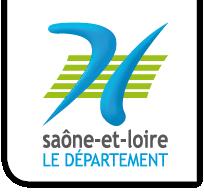 Logo département de Saône-et-Loire